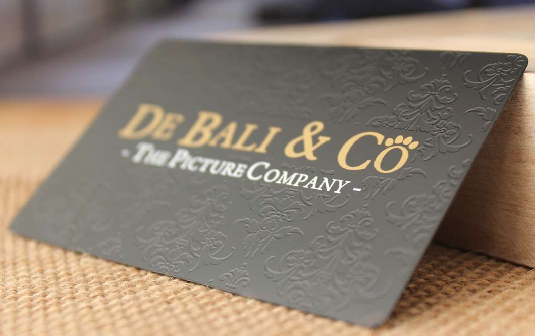 how to make metal business cards