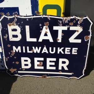 vintage signs blatz