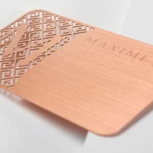 metal business cards blanks